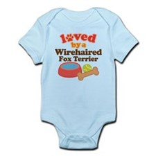 Wirehaired Fox Terrier Dog Gift Infant Bodysuit
