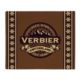 Verbier Sepia Throw Blanket