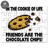 Chocolate Chip Friends Puzzle