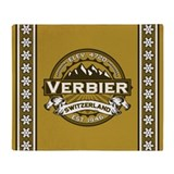 Verbier Tan Throw Blanket