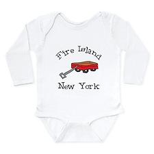 Fire Island Long Sleeve Infant Bodysuit