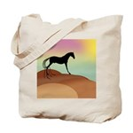 desert horse Tote Bag
