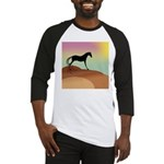 desert horse Baseball Jersey