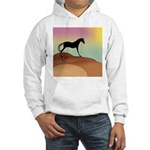 desert horse Hooded Sweatshirt