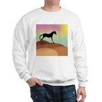 desert horse Sweatshirt