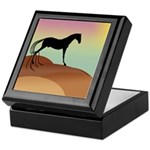 desert horse Keepsake Box