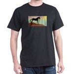 desert horse Black T-Shirt