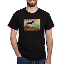 desert horse Black T-Shirt