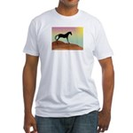 desert horse Fitted T-Shirt