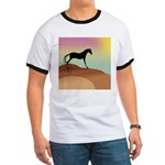 desert horse Ringer T