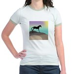 desert horse Jr. Ringer T-Shirt