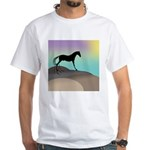 desert horse White T-Shirt