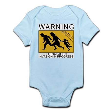 Illegal Invasion Warning Infant Creeper