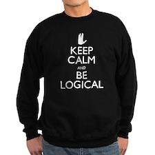 Keep Calm and Be Logical Sweatshirt