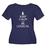 keep_calm_logical_bk.png Women's Plus Size Scoop N