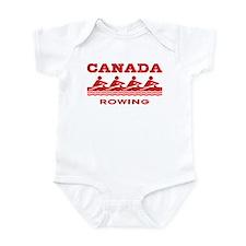 Canada Rowing Onesie