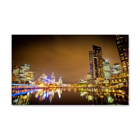 Melbourne 22x14 Wall Peel
