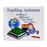 Funny Teaching Throw Blanket
