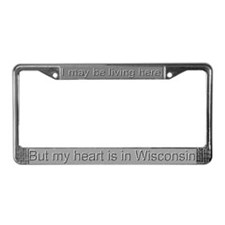 """Wisconsin"" License Plate Frame"