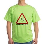 Vote Democrat Green T-Shirt