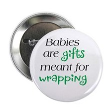 "Cute Babywearing 2.25"" Button (10 pack)"