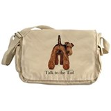 Airedale Talk to the Tail Messenger Bag