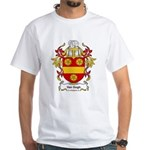 Van Gogh Coat of Arms White T-Shirt