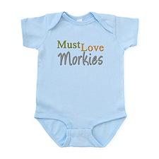 MUST LOVE Morkies Infant Bodysuit