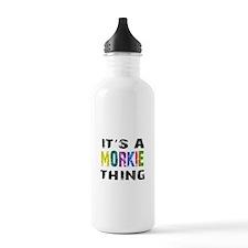 Morkie THING Water Bottle