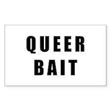 Queer Bait. Sticker (Rectangle 10 pk)