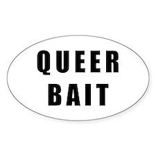 Queer Bait. Sticker (Oval 10 pk)
