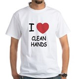 i heart clean hands Shirt