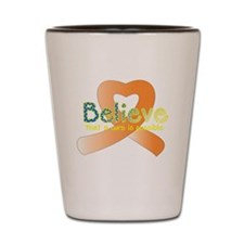 Believe Orange.png Shot Glass