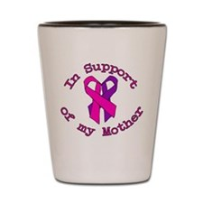 Mother Heart Support Breast.png Shot Glass