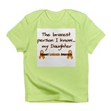 Orange Brave Daughter.png Infant T-Shirt