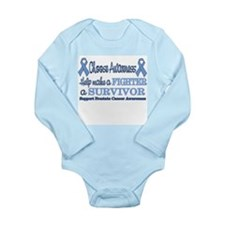 Prostate Fighter Survivor.png Long Sleeve Infant B