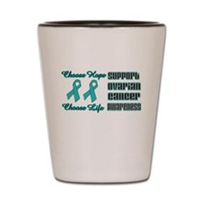 Support Ovarian.png Shot Glass