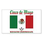 Cinco De Mayo Sticker (Rectangle)