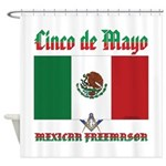 Cinco De Mayo Mason Shower Curtain