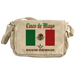 Cinco De Mayo Mason Messenger Bag