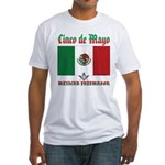 Cinco De Mayo Mason Fitted T-Shirt