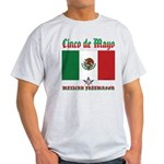 Cinco De Mayo Mason Light T-Shirt
