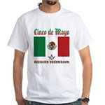 Cinco De Mayo Mason White T-Shirt