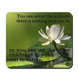 """Call to Action"" Mousepad"