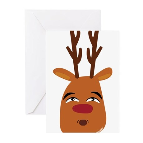 Christmas or Holiday Dalmatian Silhouette Messenge
