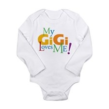 Cute Gg Long Sleeve Infant Bodysuit