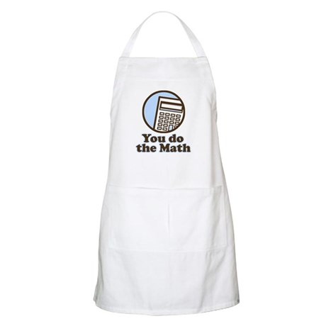 You do the math BBQ Apron