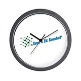 Isn't It Ionic Wall Clock