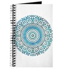 blue throat fifth chakra mosaic circle Journal