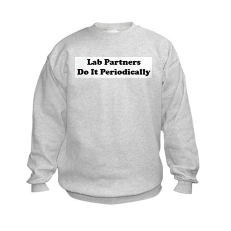 Lab Partners Do It Kids Sweatshirt